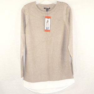 Hilary Radley NWT ribbed sweater M